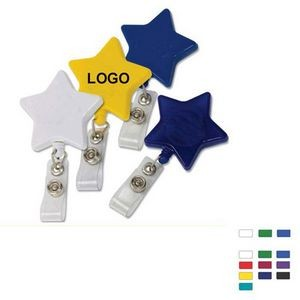 Badge Holder - Star Shape